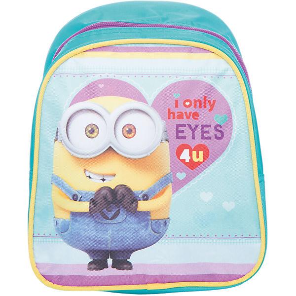 """Дошкольный рюкзак """"Миньоны"""" 23*19*8 см"""