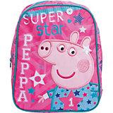 """Рюкзак """"Суперзвезда"""", Свинка Пеппа 30*25*12,5 см"""