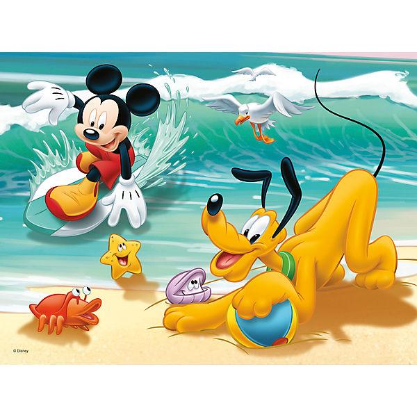 Микки и Плуто на пляже, 30 элементов, Trefl
