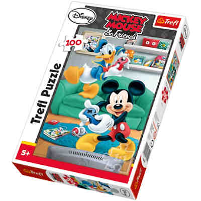 Puzzle 100 Teile - Micky und Donald