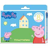 """Восковой пластилин """"Свинка Пеппа"""", 8 цветов"""