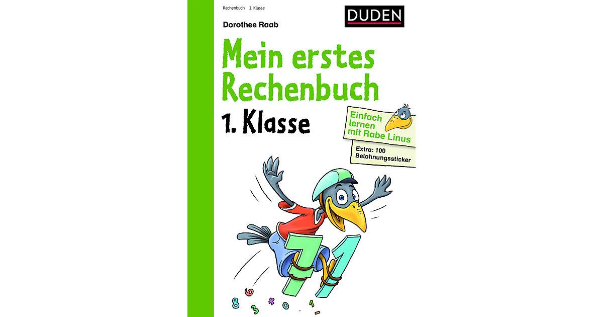 Buch - Einfach lernen mit Rabe Linus: Mein erstes Rechenbuch, 1. Klasse