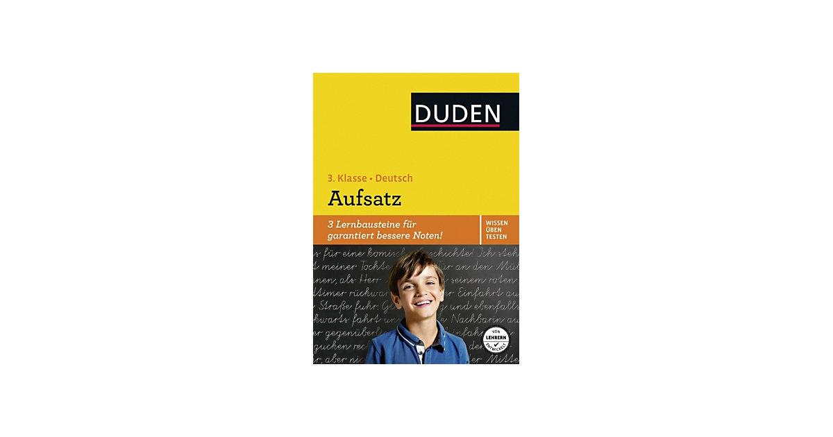 Buch - Duden Wissen - Üben - Testen: Deutsch - Aufsatz, 3. Klasse