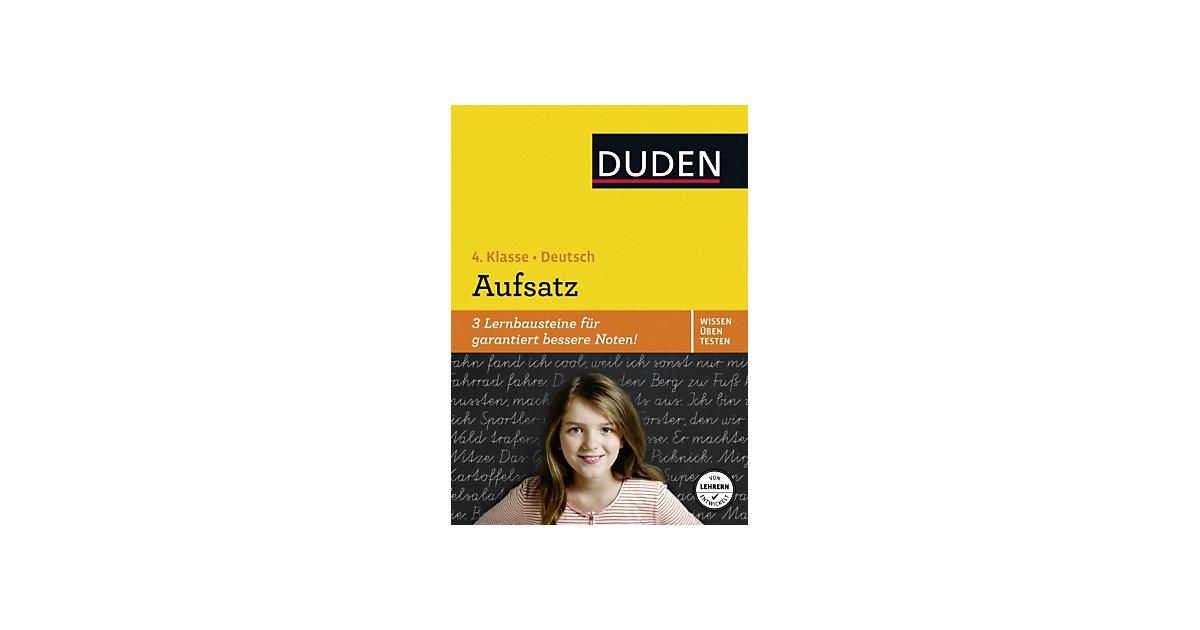 Buch - Duden Wissen - Üben - Testen: Deutsch - Aufsatz, 4. Klasse