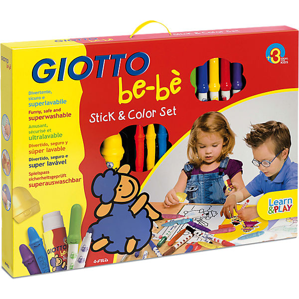 GIOTTO be-bé Stick & Color-Set, 30-tlg.