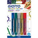GIOTTO Metallic Glitter, 5 Farben