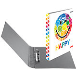 Ringbuch A4 maX.file Smiley Rainbow