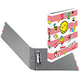 Ringbuch A4 maX.file Smiley Girly