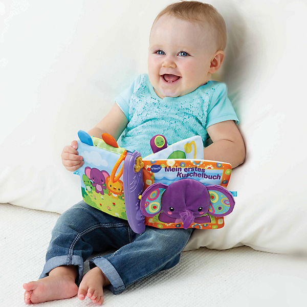 mein erstes kuschelbuch vtech baby mytoys. Black Bedroom Furniture Sets. Home Design Ideas