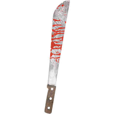 Machete Halloween Creepy Carnevil, 51,5 cm