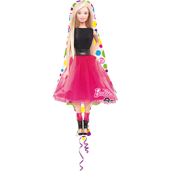 Folienballon Supershape Barbie