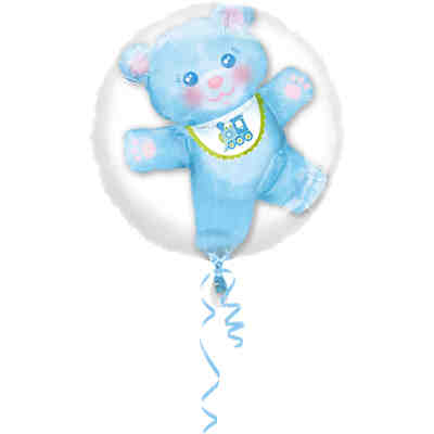 Folienballon 2 in 1 Baby Boy