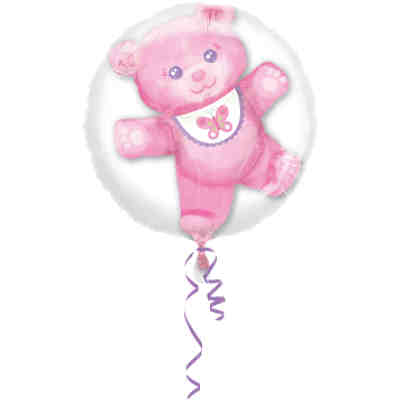 Folienballon 2 in 1 Baby Girl