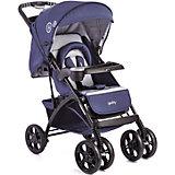 Прогулочная коляска C819R01 (RZQS), Geoby, синий/серый