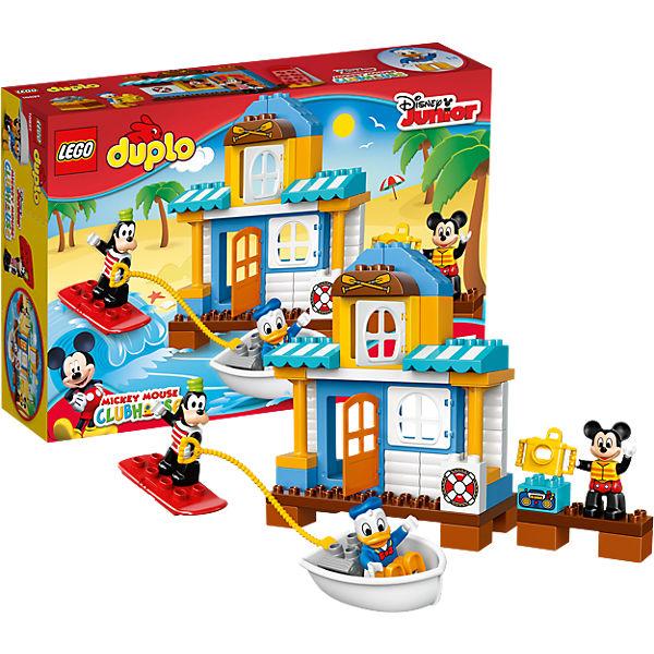 Lego 10827 duplo mickys strandhaus disney mickey mouse friends mytoys - Adventskalender duplo ...