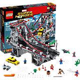 LEGO Super Heroes 76057: Человек-паук: последний бой воинов паутины