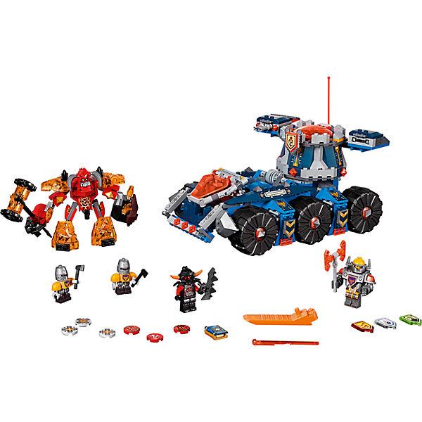 LEGO NEXO KNIGHTS 70322: Башенный тягач Акселя