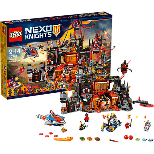 [myToys] Offerta Lego Nexo Knight - Jestro's Volcano Base (70323) per 102,21€