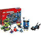 LEGO Juniors 10724: Бэтмен и Супермен против Лекса Лютора