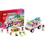 LEGO Juniors 10727: Грузовик с мороженым Эммы