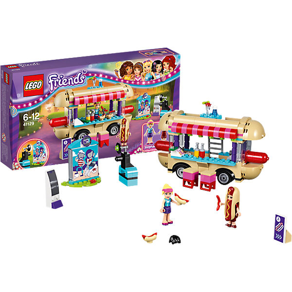 LEGO Friends 41129: Парк развлечений: фургон с хот-догами