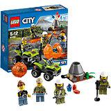 """LEGO City 60120: Набор для начинающих """"Исследователи Вулканов"""""""