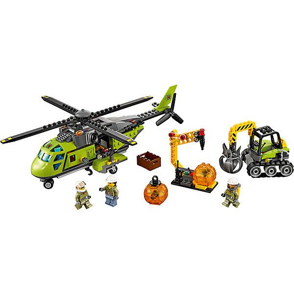 LEGO City 60123: Грузовой вертолёт исследователей вулканов