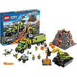 LEGO City 60124: База исследователей вулканов