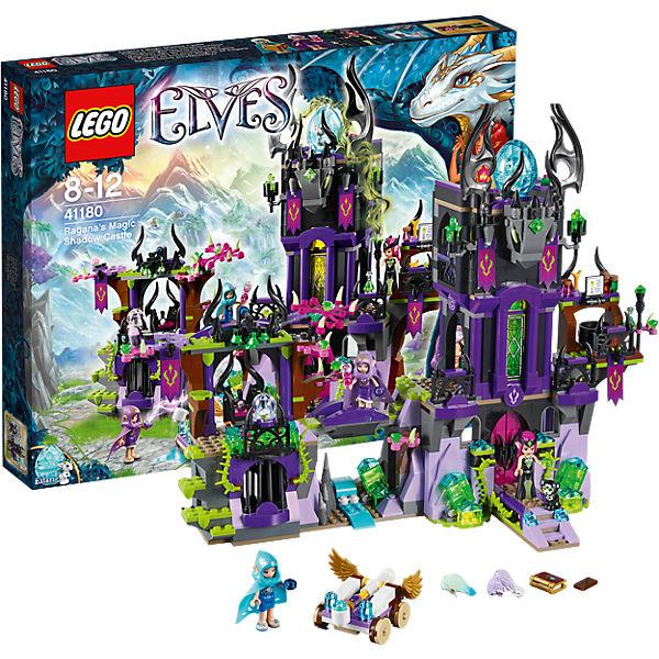 Ausmalbilder Lego Elves Drachen: LEGO 41180 Elves: Raganas Magisches Schattenschloss, LEGO