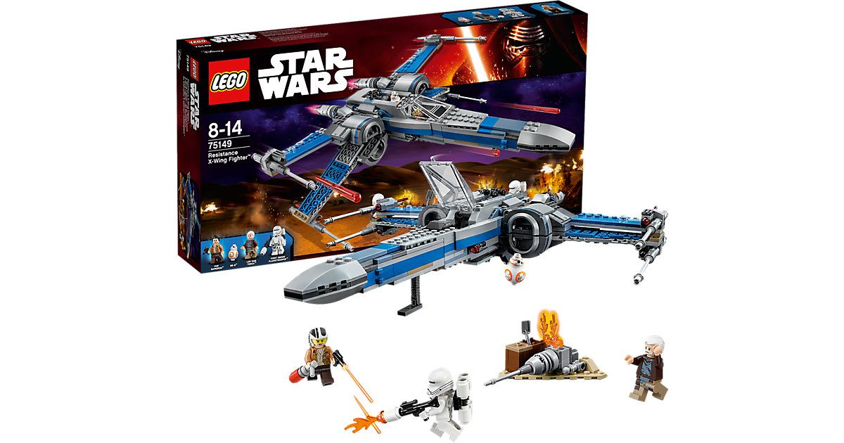 LEGO 75149 Star Wars: Resistance X-Wing Fighter™