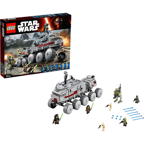 LEGO Star Wars 75151: Турботанк Клонов