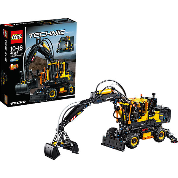 lego 42053 technic volvo ew160e lego mytoys. Black Bedroom Furniture Sets. Home Design Ideas