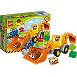 LEGO DUPLO 10811: Экскаватор-погрузчик