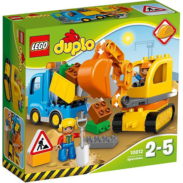 LEGO 10812 DUPLO: Bagger & Lastwagen, LEGO DUPLO | myToys