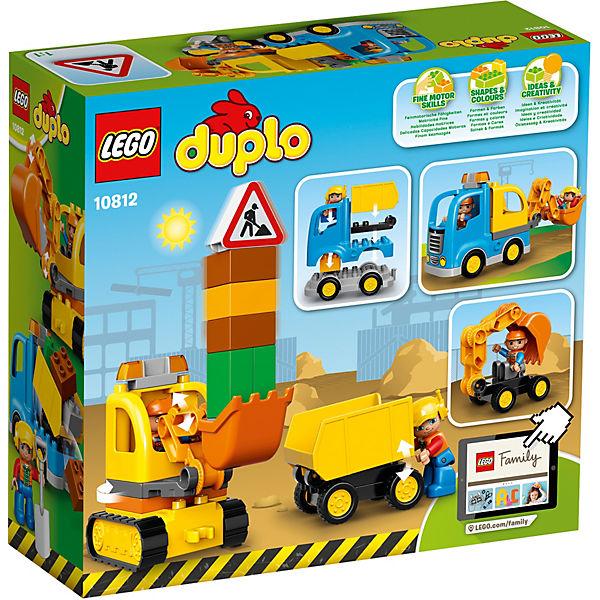 LEGO DUPLO 10812: Грузовик и гусеничный экскаватор