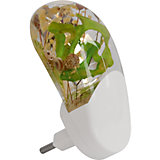 Ночник Весна LED Фотоэлемент 0.2Вт, Ultra Light, зелёный