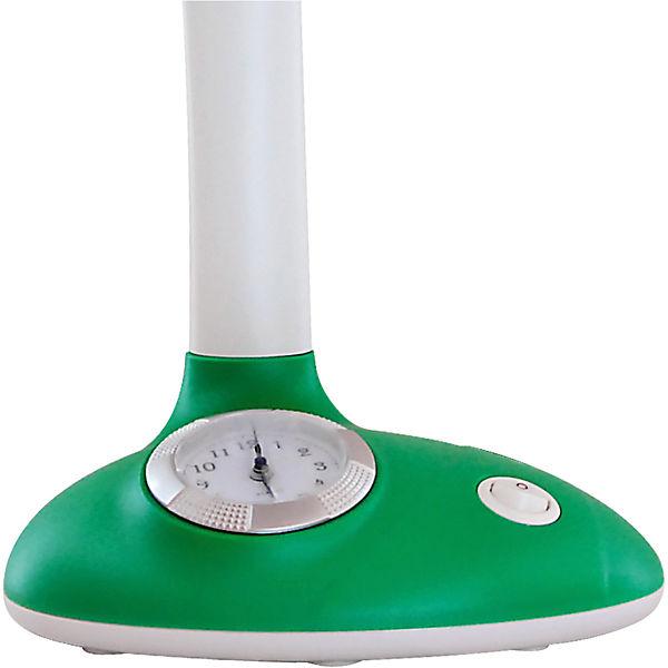 Светильник-часы, 11 Вт, Ultra Light, зеленый
