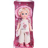 Кукла Элла 2 (пластмассовая), со звуком, 35,5 см, Весна