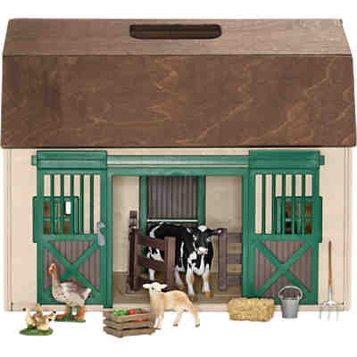 Schleich 42272 Farm World: Transportable Scheune