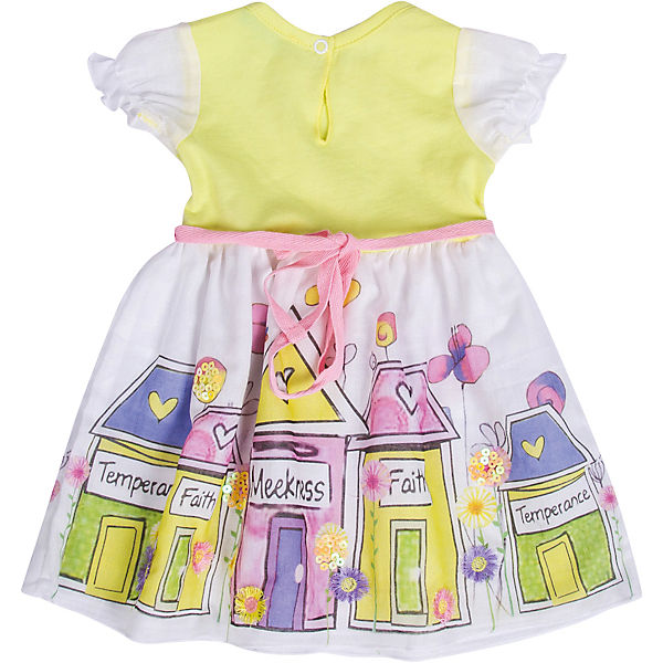 Платье Бимоша - желтый