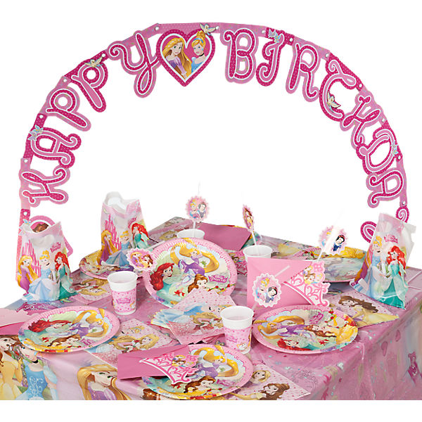 Partyset Disney Princess Dreaming, 56-tlg.