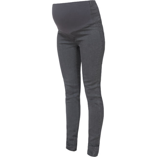 Umstandsjeggings slim fit, grau