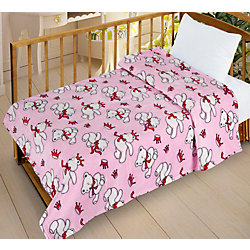Плед Велсофт-беби в кроватку VB11, 95х130