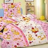 """Комплект """"Китти"""" 1,5-спальный (наволочка 50х70), розовый"""