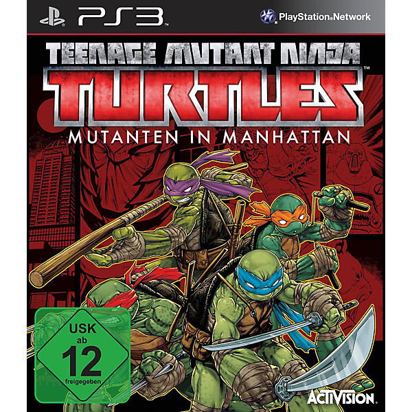 PS3 Teenage Mutant Ninja Turtles: Mutanten in Manhattan