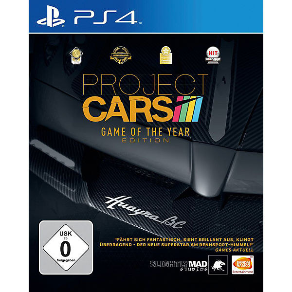 PS4 Project Cars Games of the Year Edition