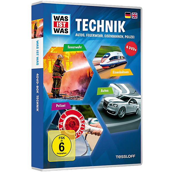 DVD Was ist Was - Technik - Box3