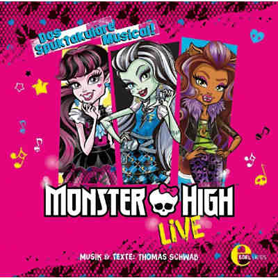 CD Monster High - Musical-Live