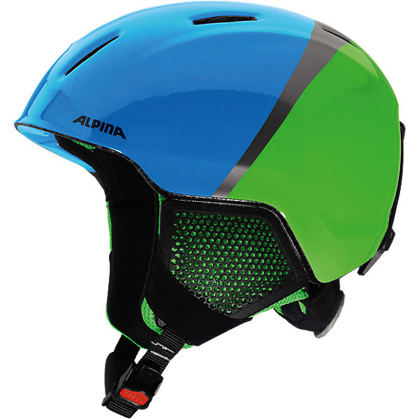 Skihelm Carat LX green-blue-grey