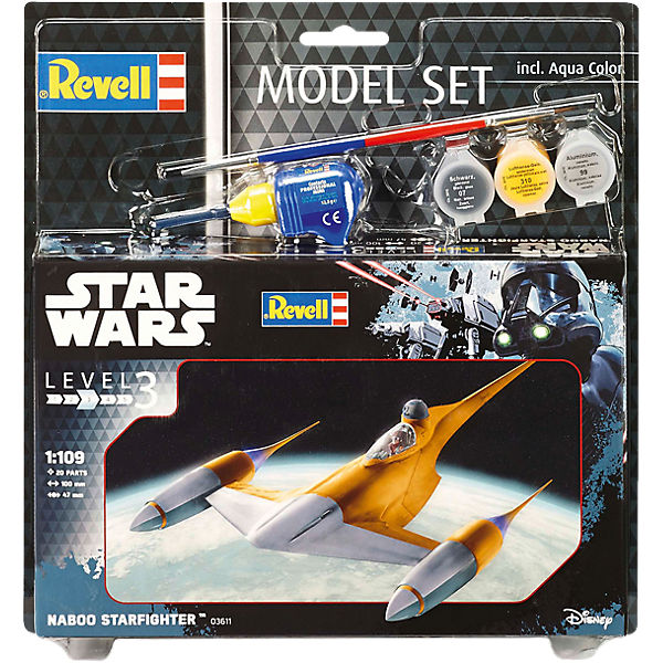Revell Modellbausatz - Model Set Star Wars Naboo Starfighter